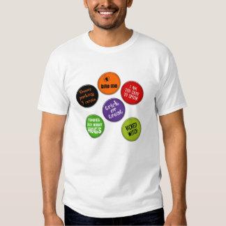 Hlloween buttons tshirt