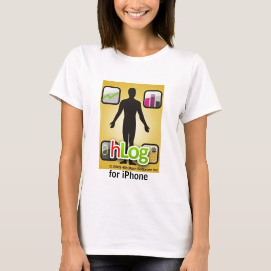 hlog for iPhone T-Shirt