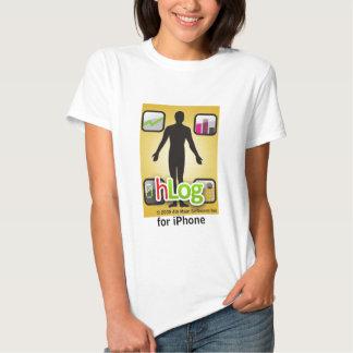 hlog para el iPhone Remera