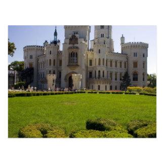 Hluboka Castle In South Of Bohemia Postcard