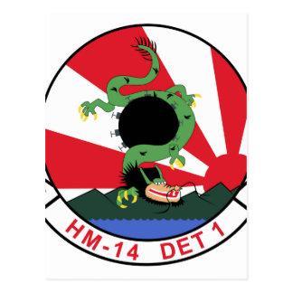 HM-14 DET 1 POSTCARD