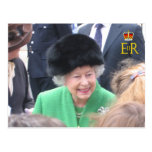 HM la postal del jubileo del diamante de la reina