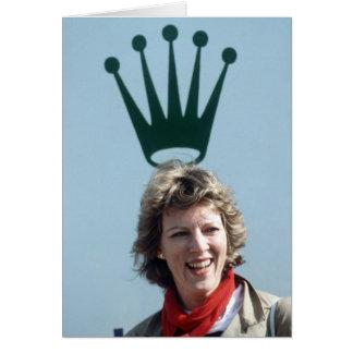 HM Queen Anne-Marie of Greece Card