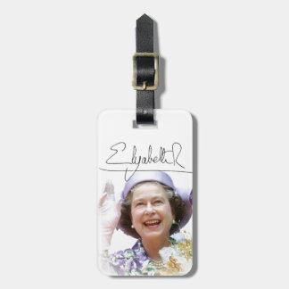 HM Queen Elizabeth II Bag Tag