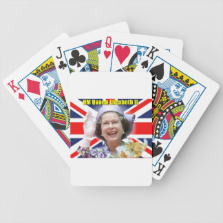 HM Queen Elizabeth II Bicycle Playing Cards