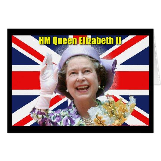 HM Queen Elizabeth II Card