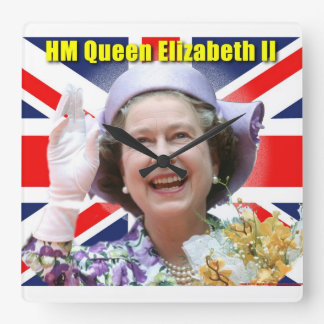 HM Queen Elizabeth II Clocks