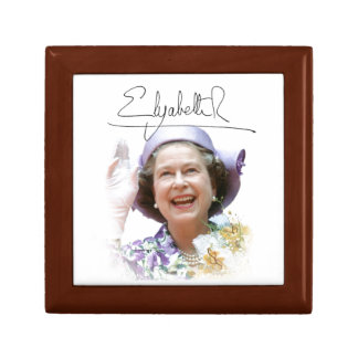 HM Queen Elizabeth II Gift Box