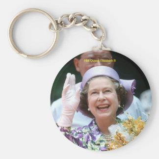 HM Queen Elizabeth II-Hong Kong-1987 Keychain