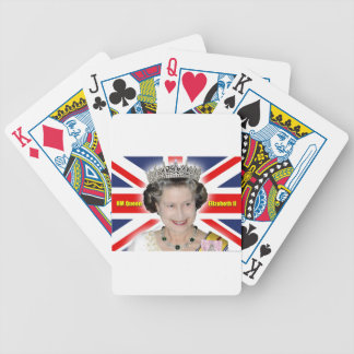 HM Queen Elizabeth II - Majestic! Bicycle Playing Cards
