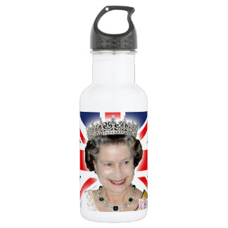 HM Queen Elizabeth II - Majestic! Stainless Steel Water Bottle