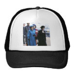 HM Queen Elizabeth II-Margaret Thatcher Mesh Hats