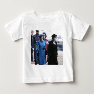 HM Queen Elizabeth II-Margaret Thatcher Tee Shirts