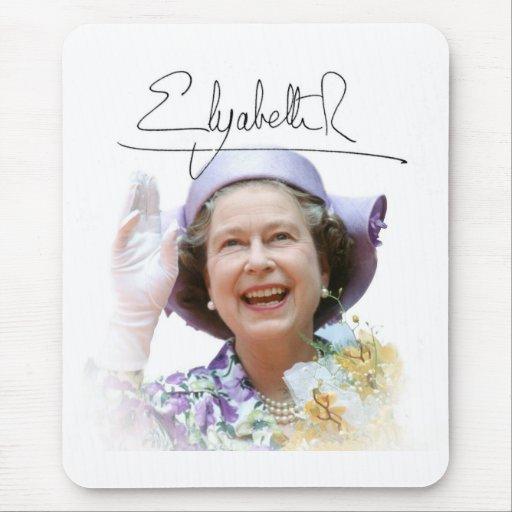 HM Queen Elizabeth II Mousemats