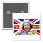 HM Queen Elizabeth II Pinback Buttons