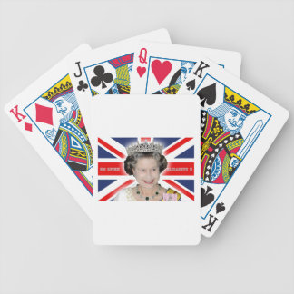 HM Queen Elizabeth II - Pro photo Bicycle Playing Cards