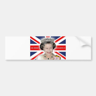 HM Queen Elizabeth II - Pro photo Bumper Sticker