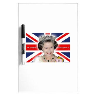 HM Queen Elizabeth II - Pro photo Dry Erase Whiteboards