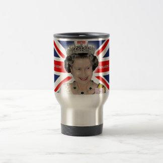 HM Queen Elizabeth II - Pro photo Travel Mug