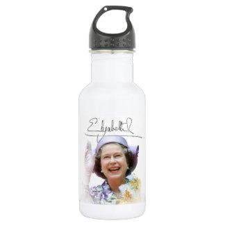 HM Queen Elizabeth II Stainless Steel Water Bottle