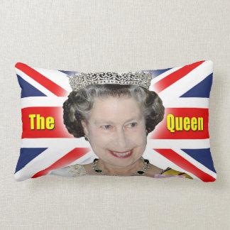 HM Queen Elizabeth II - The Queen Throw Pillow