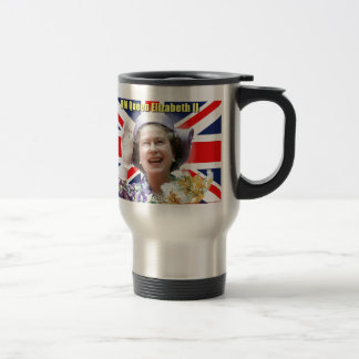HM Queen Elizabeth II Travel Mug