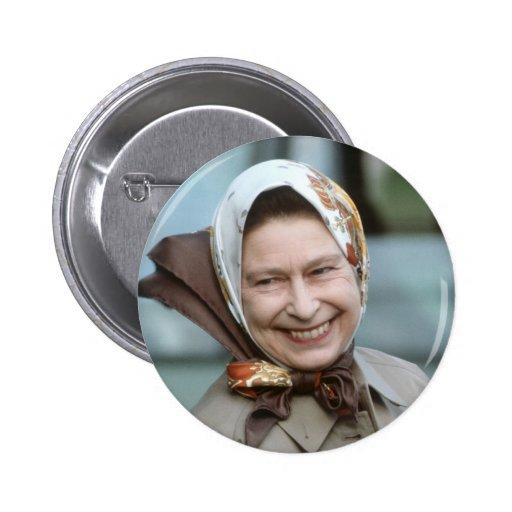 HM Queen Elizabeth II-Windsor 1983 2 Inch Round Button