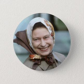 HM Queen Elizabeth II-Windsor 1983 Button
