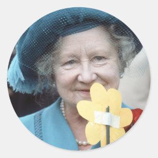 HM Queen Elizabeth, The Queen Mother 1984 Stickers