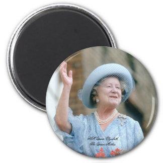 HM Queen Elizabeth, The Queen Mother 1985 Fridge Magnet