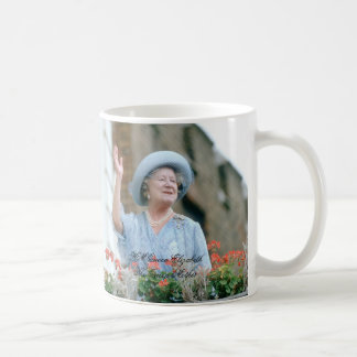 HM Queen Elizabeth, The Queen Mother 1985 Classic White Coffee Mug