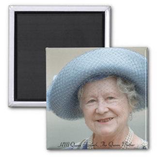 HM Queen Elizabeth, The Queen Mother 1988 2 Inch Square Magnet
