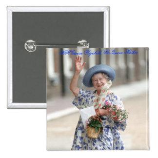 HM Queen Elizabeth The Queen-Mother 1988 Pins