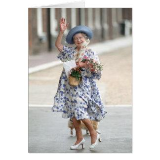 HM Queen Elizabeth The Queen-Mother 1988 Greeting Cards