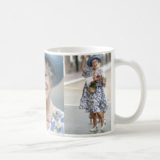 HM Queen Elizabeth, The Queen Mother 1988 Classic White Coffee Mug