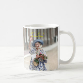 HM Queen Elizabeth The Queen-Mother 1988 Classic White Coffee Mug