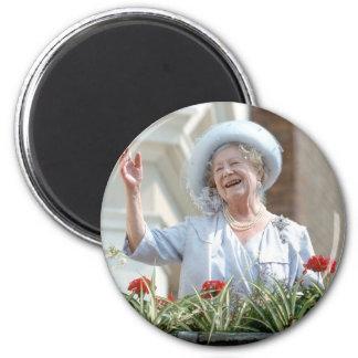 HM Queen Elizabeth, the Queen Mother 1990 2 Inch Round Magnet