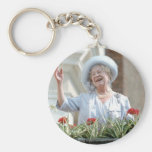 HM Queen Elizabeth, the Queen Mother 1990 Key Chain