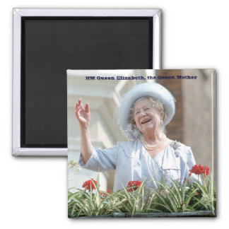 HM Queen Elizabeth, the Queen Mother 1990 Magnet