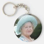 HM Queen Elizabeth, The Queen Mother Berlin 1987 Keychain