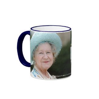 HM Queen Elizabeth, The Queen Mother Berlin 1987 Ringer Coffee Mug