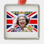 HM reina Elizabeth II Adorno De Reyes