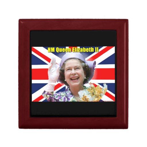 HM reina Elizabeth II Caja De Recuerdo