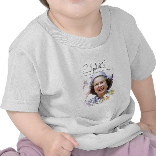 HM reina Elizabeth II Camiseta
