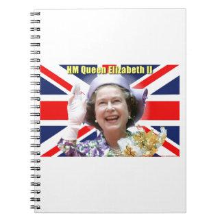 HM reina Elizabeth II Cuaderno