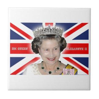 HM reina Elizabeth II - favorable foto Tejas Ceramicas