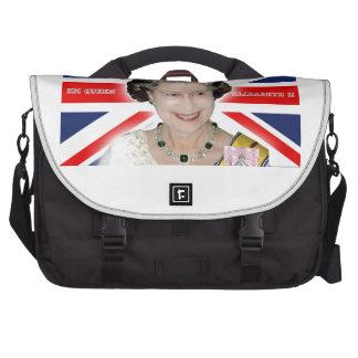 HM reina Elizabeth II - favorable foto Bolsa De Ordenador