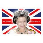 HM reina Elizabeth II - favorable foto Papeleria Personalizada