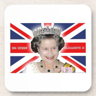 HM reina Elizabeth II - favorable foto Posavasos De Bebida