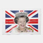 HM reina Elizabeth II - favorable foto Toalla